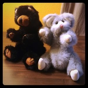 Ty Bear and Mouse Dolls